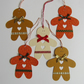 5 Christmas Gingerbread Men Gift Labels