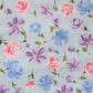 1.5 Metres of Blue, Pink and Lilac Floral Fabric