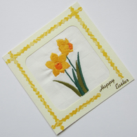 Easter Daffodil Card