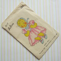 Unused Vintage Baby Doll Pattern