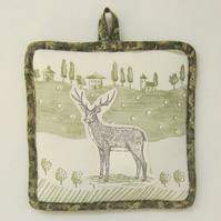 Stag Pot Holder
