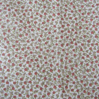 2 Metres of Unused Vintage Small Floral Ditsy Print Fabric. Probably by Liberty