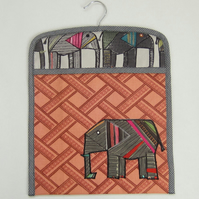 Elephant Peg Bag