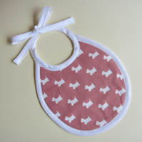 First Size Babies Scottie Dog Bib