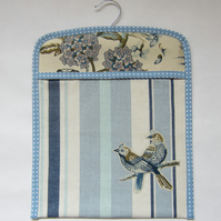 Blue Bird Peg Bag