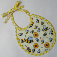 Babies First Size Honey Bee Bib