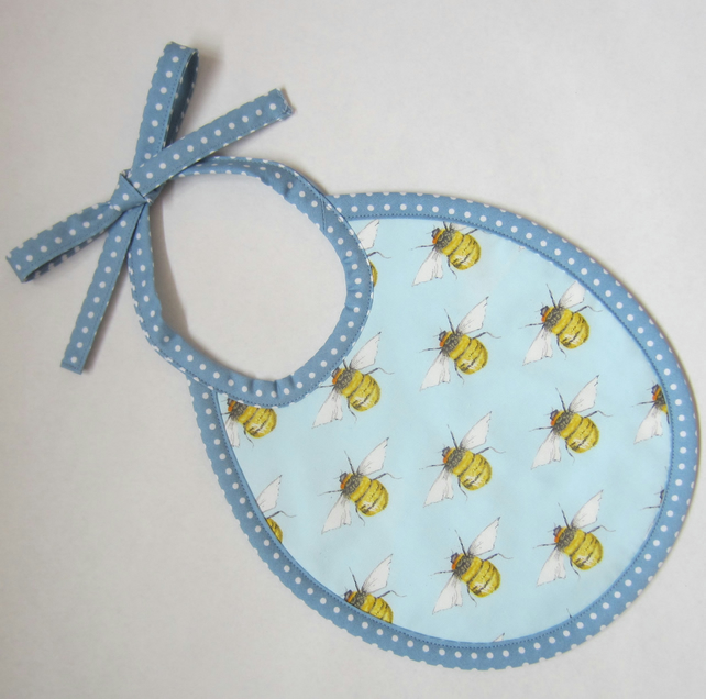 Babies First Size Bee Bib