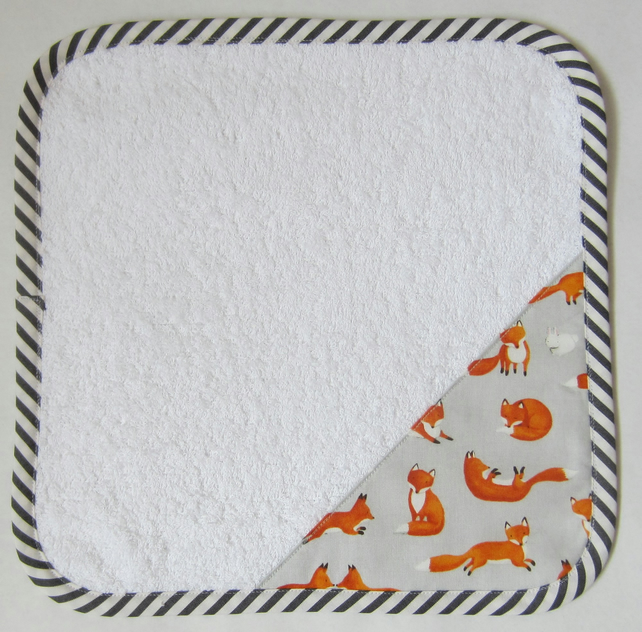 Fox and Rabbit Face Cloth