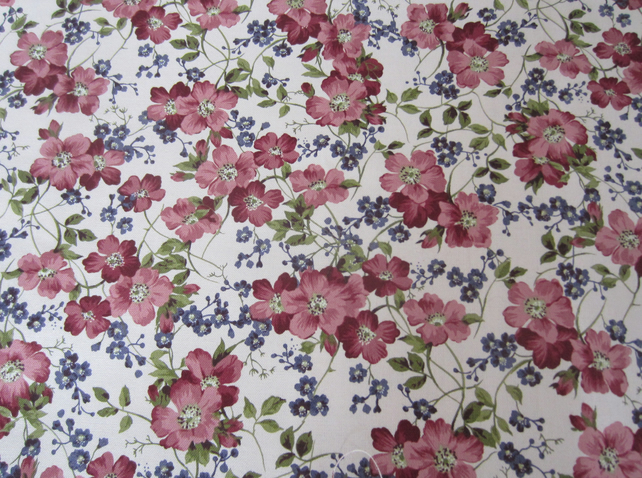 2 Metres of Kristen by Moda Fabrics Floral Fabric