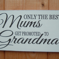 shabby chic vintage mum grandma..dad grandad birthday gift plaque sign