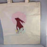 'To the Moon and Back' Tote Bage