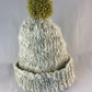 Lambswool Knitted Pom Pom Hat