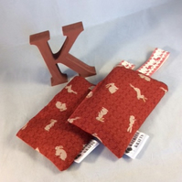 Pair of Hare Lavender Sachets