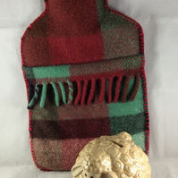 Felted Hot Water Bottle and Cover