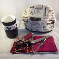 Tea Cosy for One - Sewing