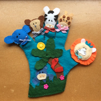 Jungle Story Time Glove Puppet