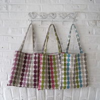 Handmade Recycled Ovals Bags