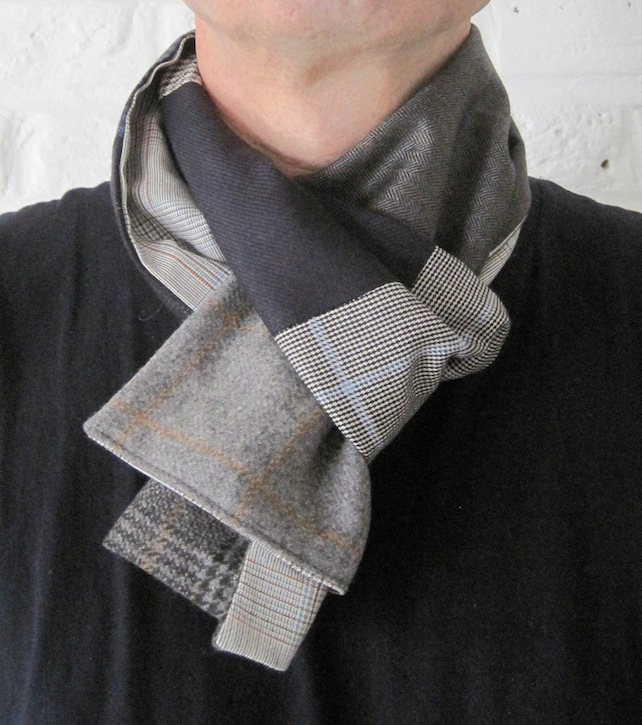 Handmade Recycled Soft Wool Scarf