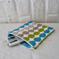 Handmade Recycled Octagons Pouch