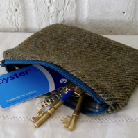 Handmade Recycled Tweed Pouches