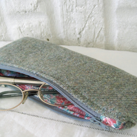 Handmade Recycled Pale Green Pouch