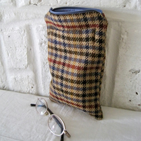 Handmade Recycled Tweed Pocket Pouch
