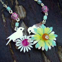 Necklace - Little birdies