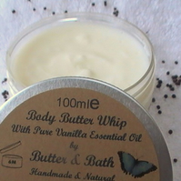Whipped Body Butter with Natural Vanilla