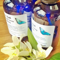 100% Natural Body Oil Spray with Ylang Ylang Essential Oil
