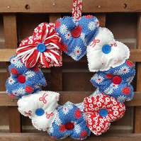 Heart Wreath, Hanging Hearts