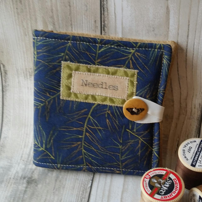 Fabric Sewing Needle Case