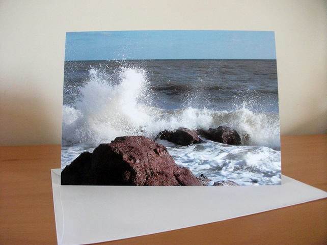 A5 Card - Shaldon Beach