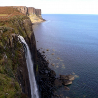 Kilt Rock Waterfall - Isle of Skye