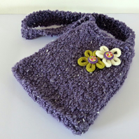 Hand Knitted Bag