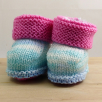 Hand Knitted Booties