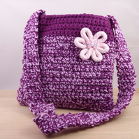 Childs Crocheted Bag