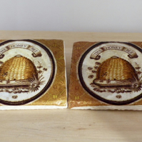 Marble 'Honey Bee' Coasters