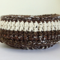 Crocheted Bowl