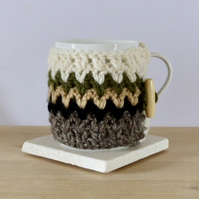 Crocheted Mug Cosy