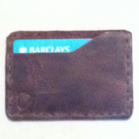Minimalist front pocket card holder wallet