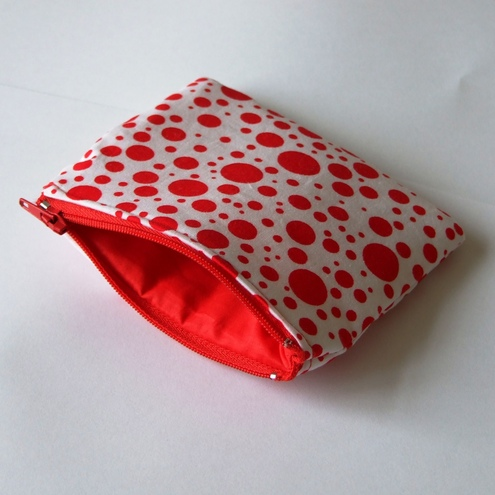 Spotty coin purse