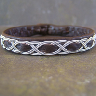 Traditional Sami Bracelet- Antique Brown- Unisex
