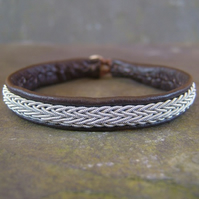 Sami Bracelet- Brown Leather