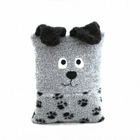 Children Dog-Shaped Pillow - Child Nursery Soft Furry Cute Cuddly Washable Anima