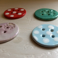 Big Ceramic Buttons