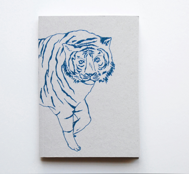 A6 Notebook 'Tiger'