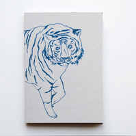 SALE A6 Notebook 'Tiger'