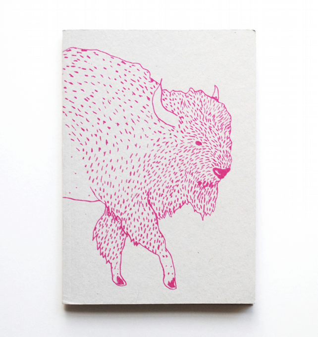A6 Notebook 'Bison'