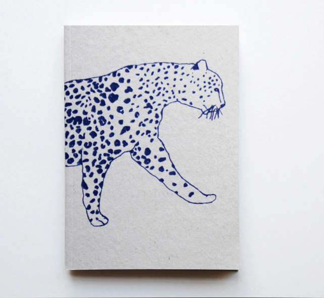 A6 Notebook 'Leopard'