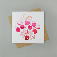 "Limited Edition Letterpress Card ""Figs"""